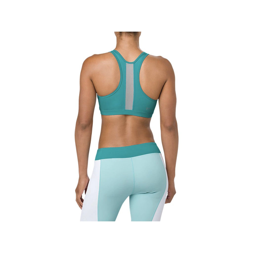 ASICS COLOR BLOCK BRA - LAKE BLUE