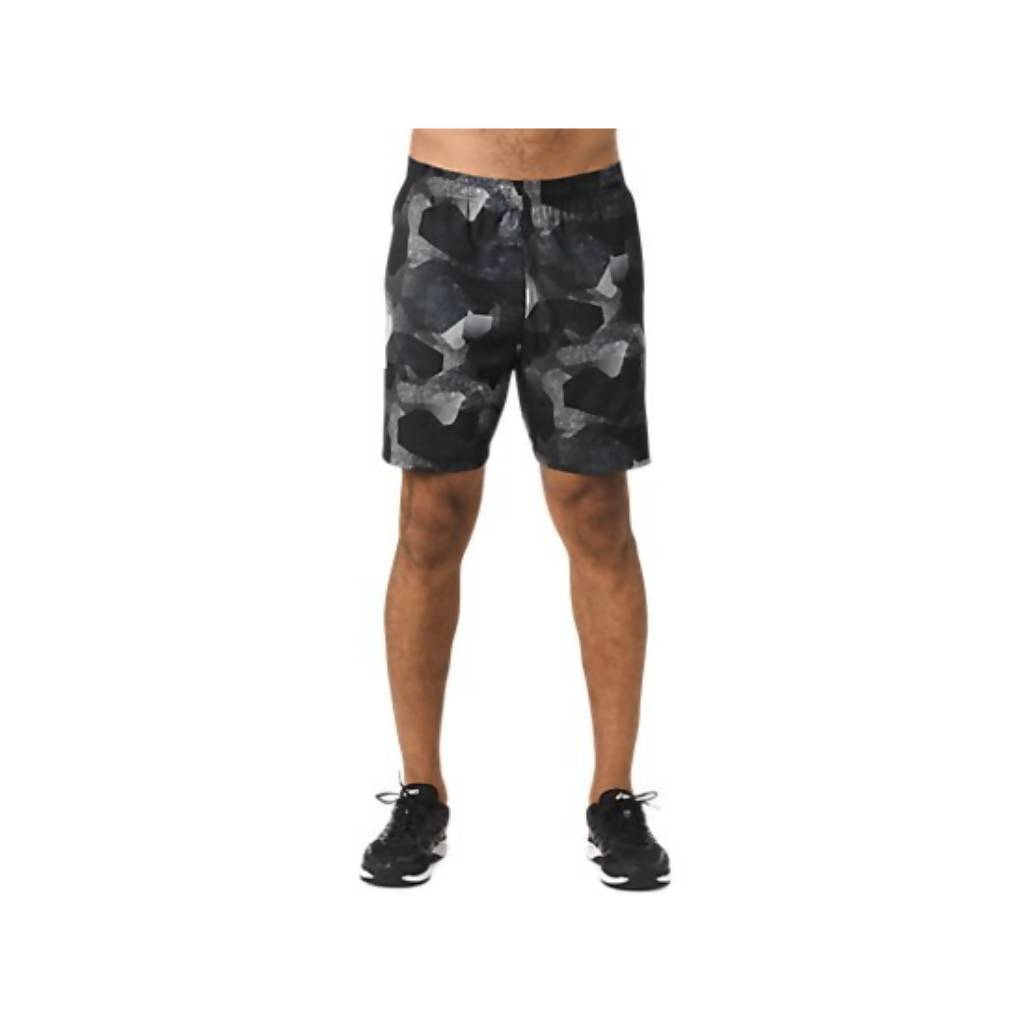 FUZEX 7IN PRINT SHORT - CAMO GEO PERFORMANCE BLACK