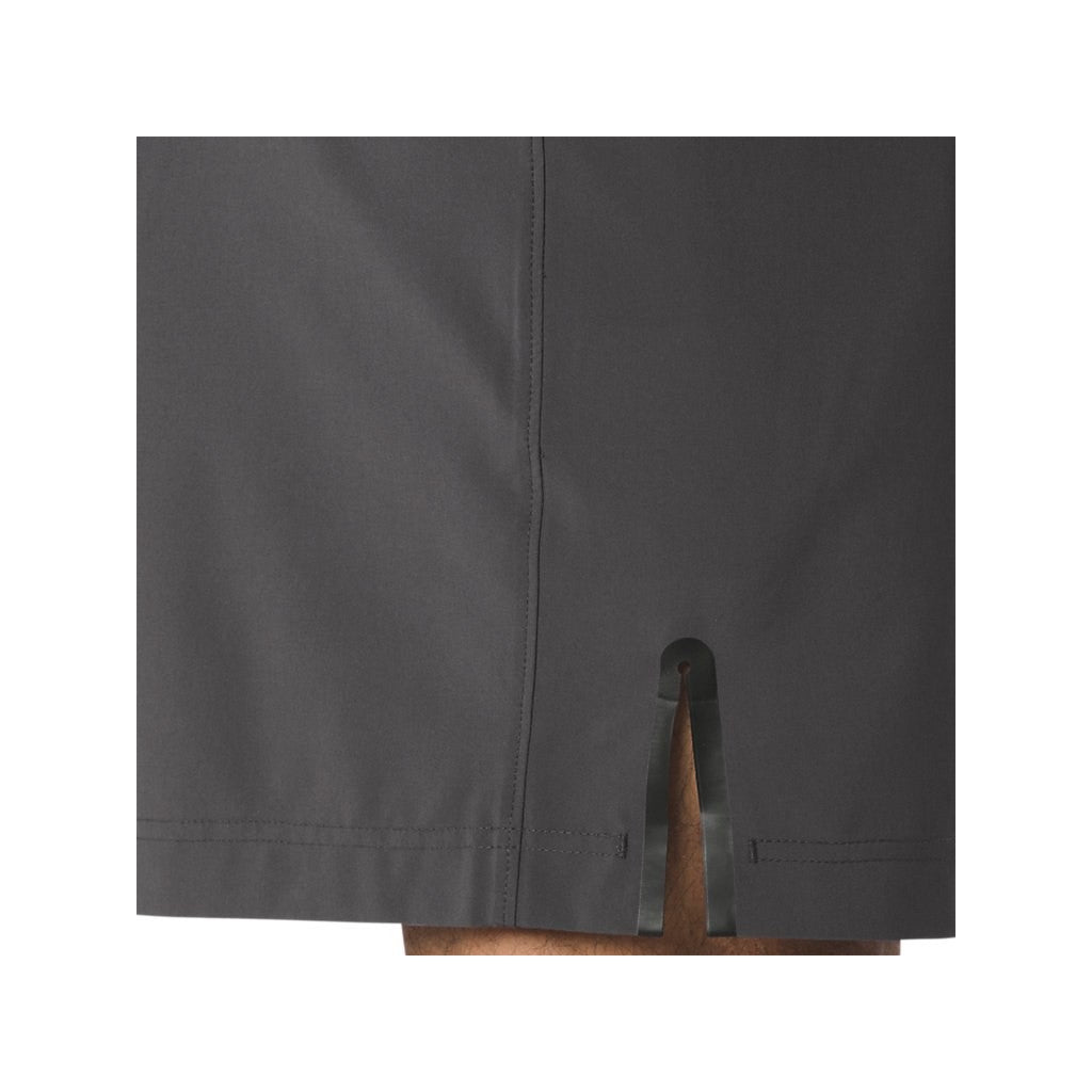 7 IN SLIT SHORT - DARK GREY