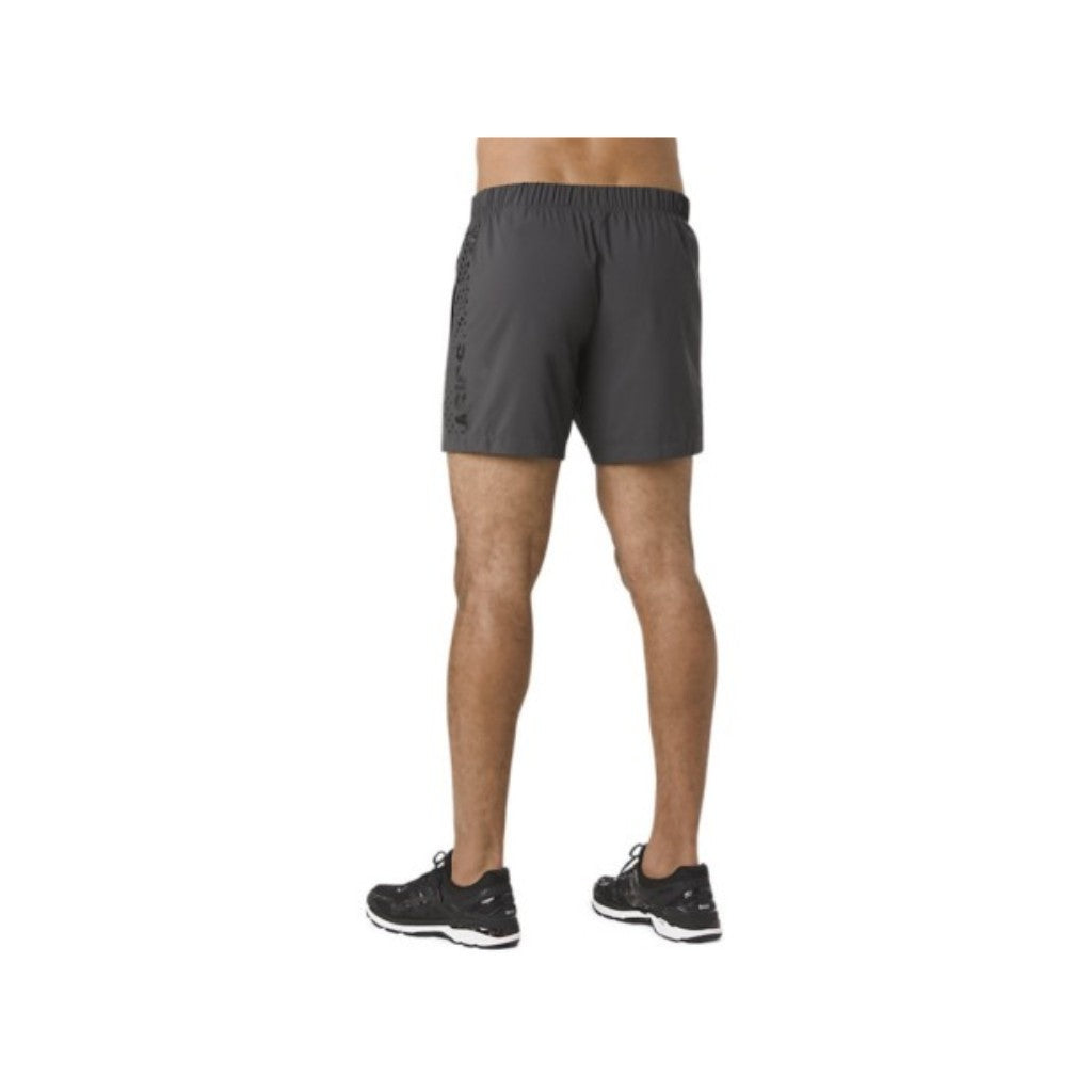 ASICS FUZEX WIND SHORT - DARK GREY