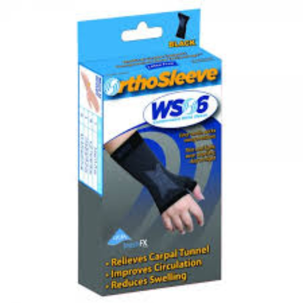 WS6 Compression Wrist Sleeve (SINGLE)