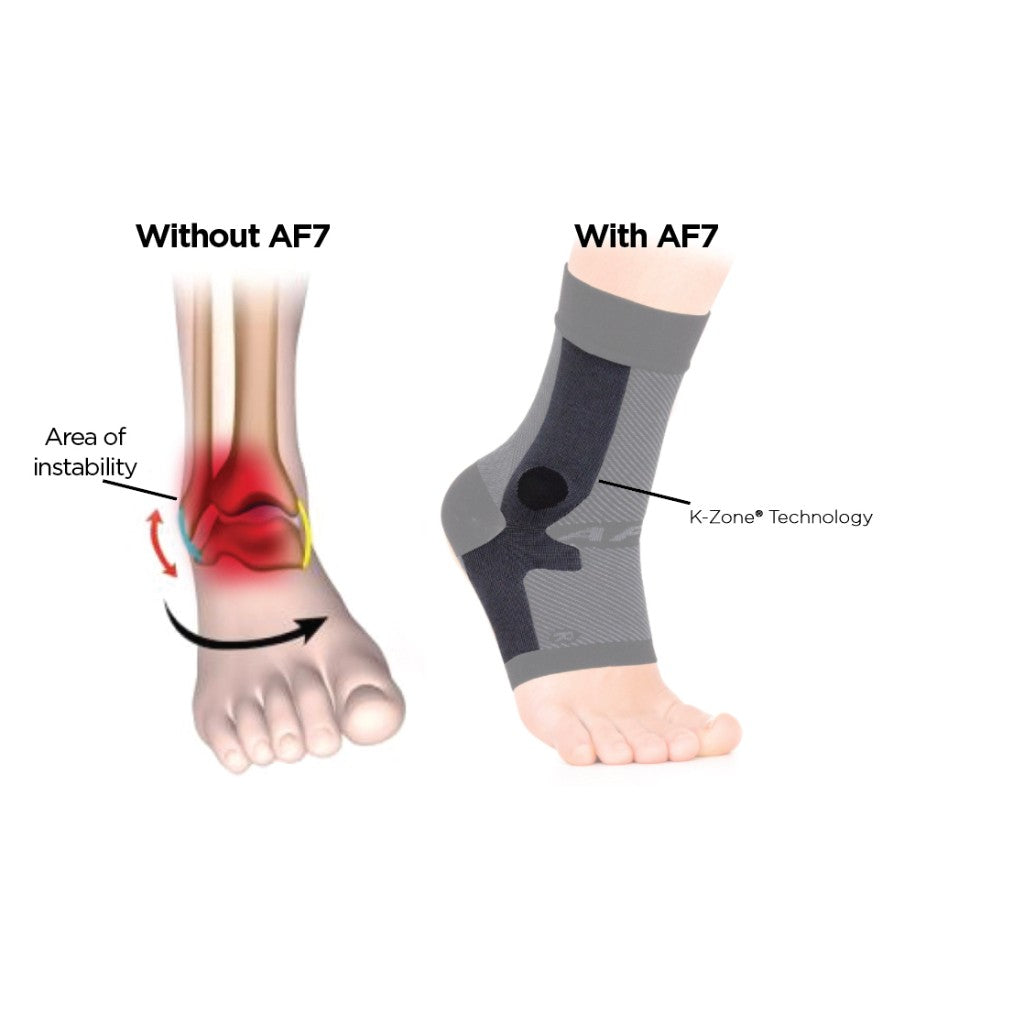 AF7 Ankle Bracing Sleeve (LEFT SLEEVE)