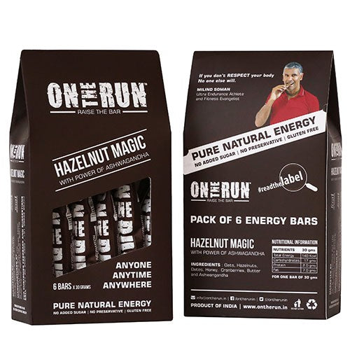 On The Run - Hazelnut Magic (Pack Of 6)