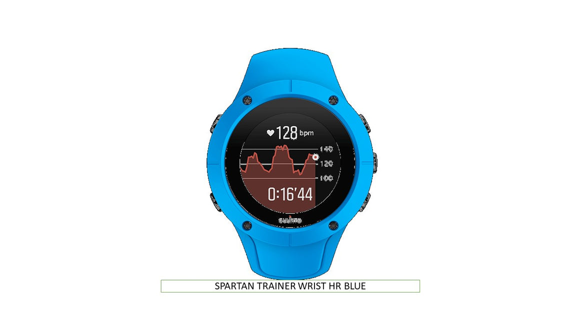 SPARTAN TRAINER WRIST HR BLUE