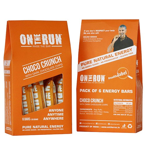 On The Run - Choco Crunch (Pack Of 6)