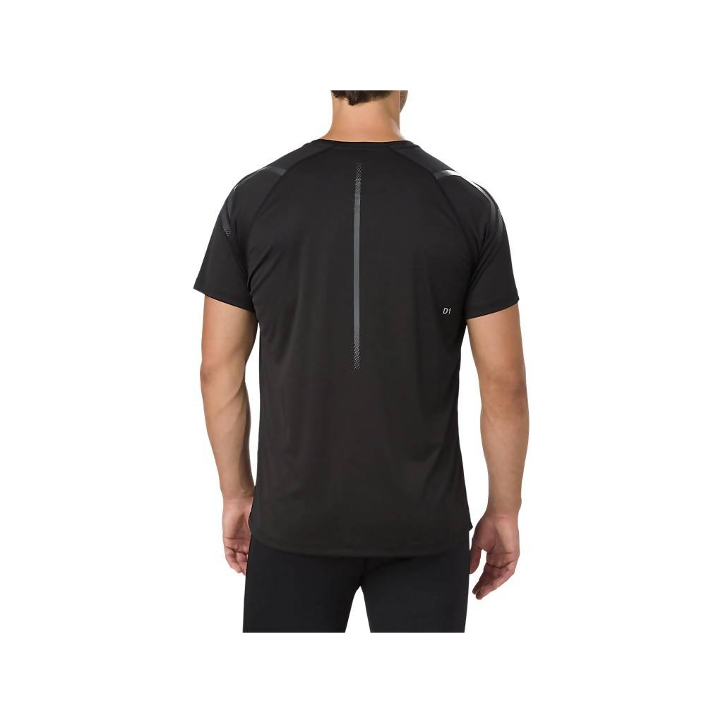 ASICS ICON SS TOP - PERFORMANCE BLACK