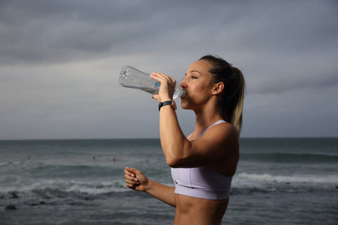 Noni Jenkins Drinking Water for THERMOfit