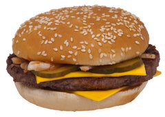Unhealthy Hamburger, fast food. What is the value of your food.