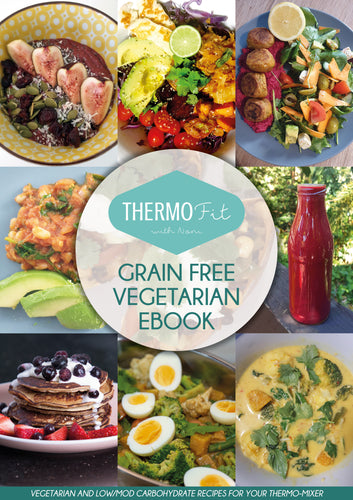 Grain-Free Vegetarian Recipe eBook