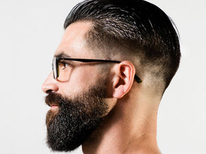 Style Your Beard & Give It A Light Natural Hold.