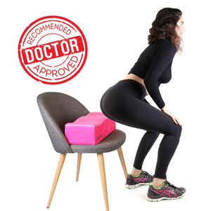 Brazilian Butt Lift Pillow – Post Surgery Recovery Seat - Pink