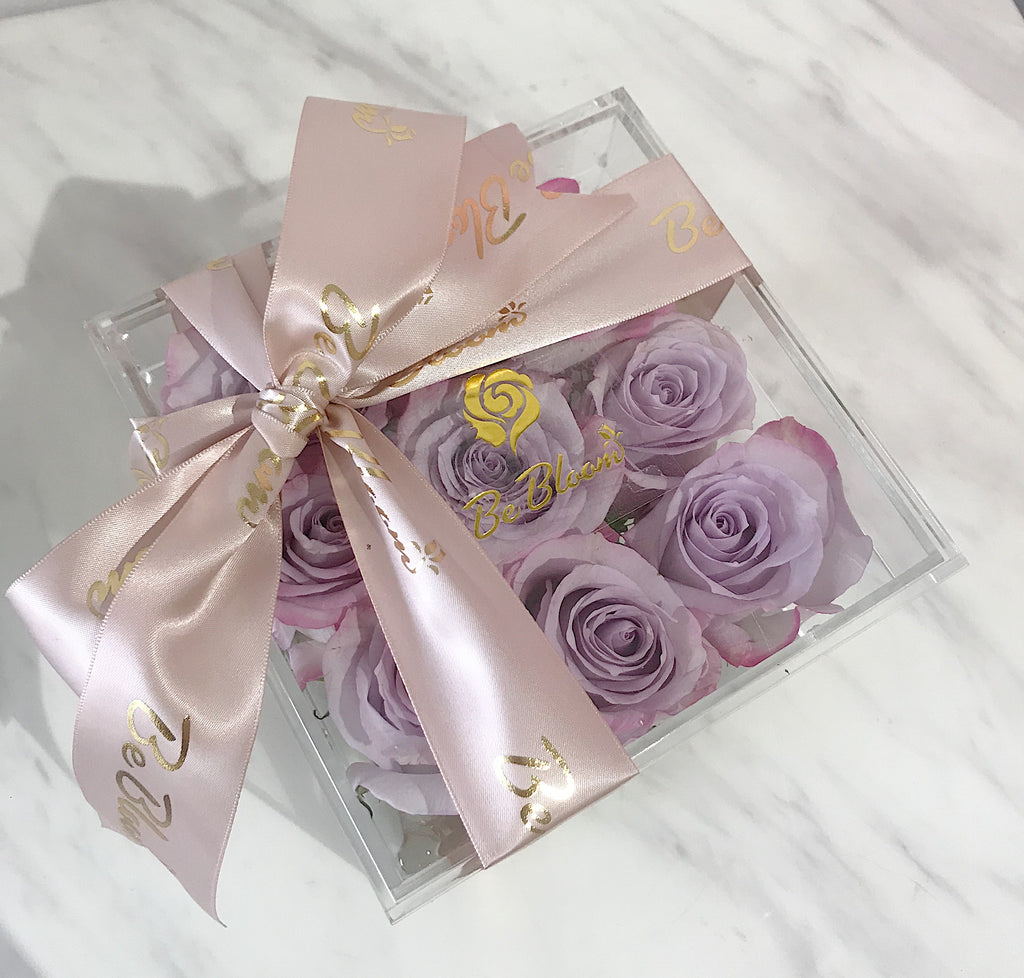 Crystal Box - Preserved Rose