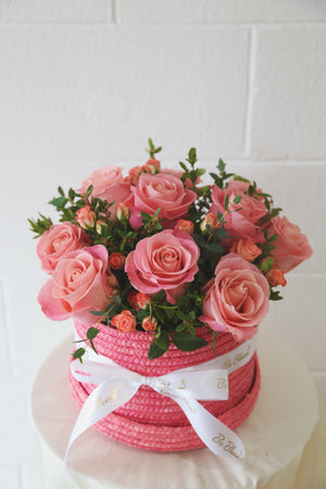 Fresh Rose Basket