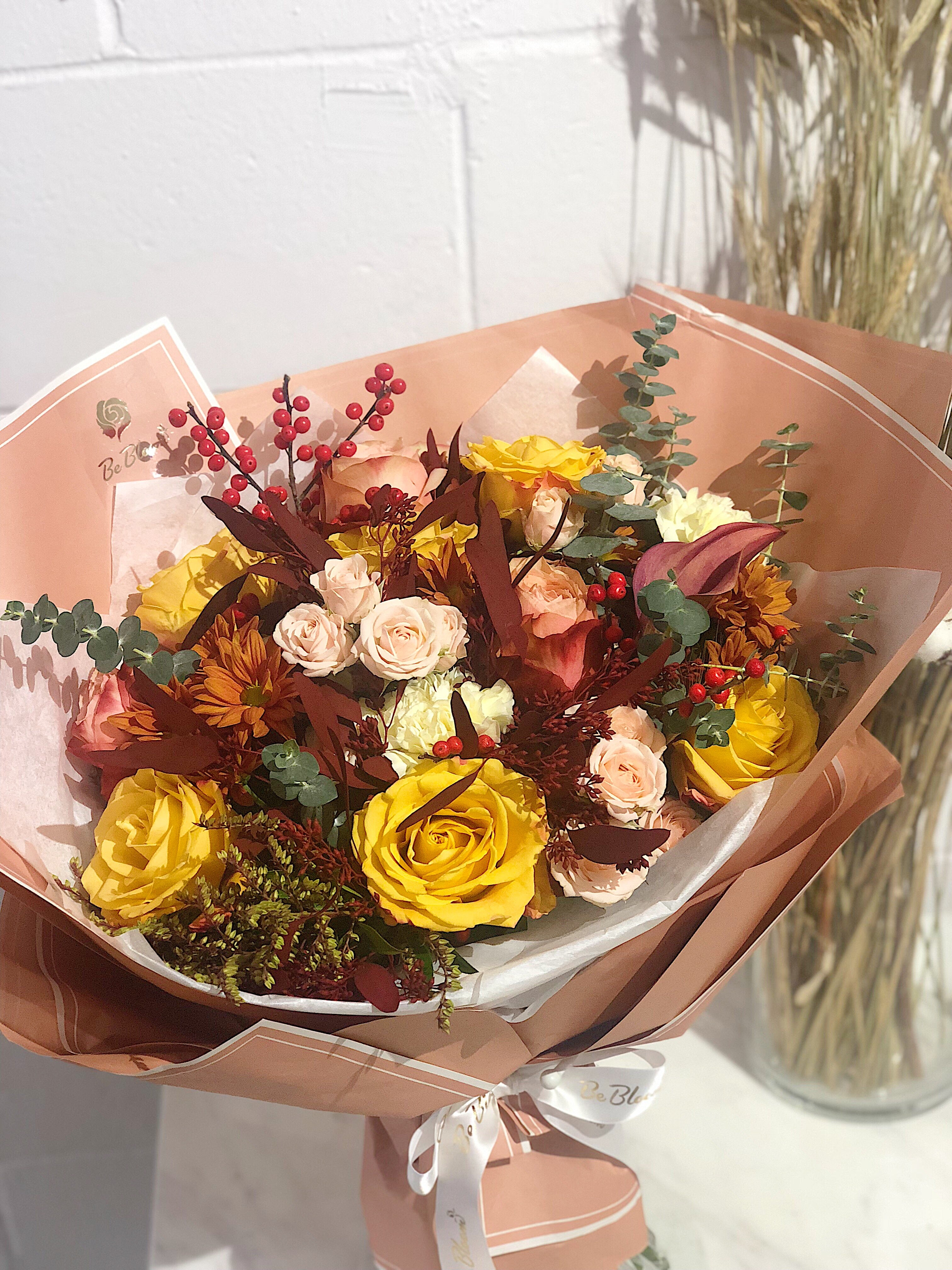 "Bouquet  ""Autume Palette"""