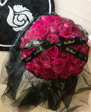 "Bouquet ""Black Dress"""