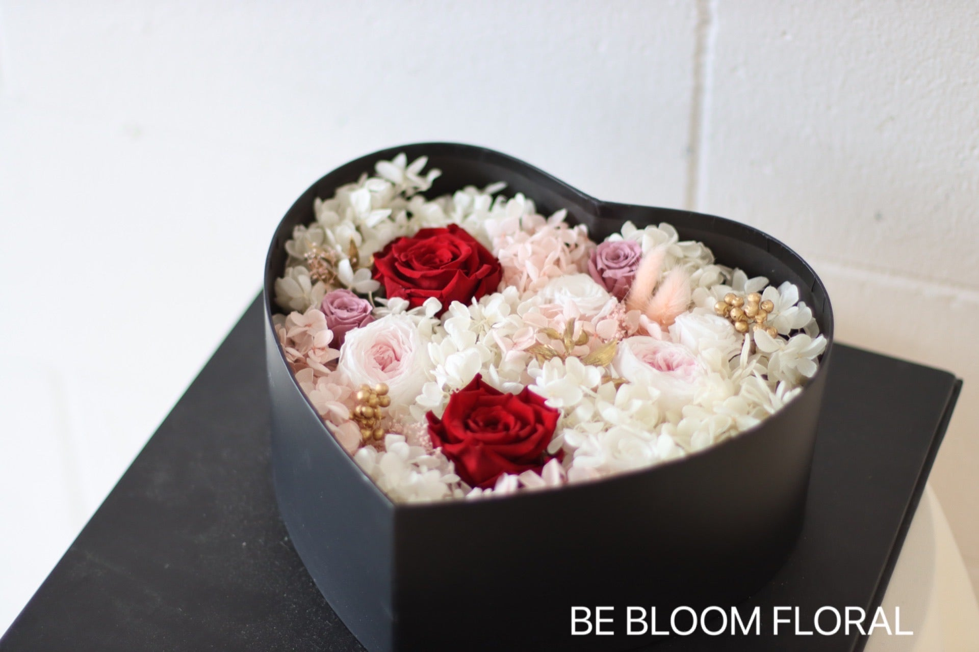 """True Love""Preserved Flower Box"