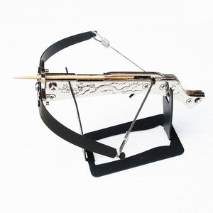 Mini Metal Dragon Tattoo Toothpick Crossbow - sunhilltoy