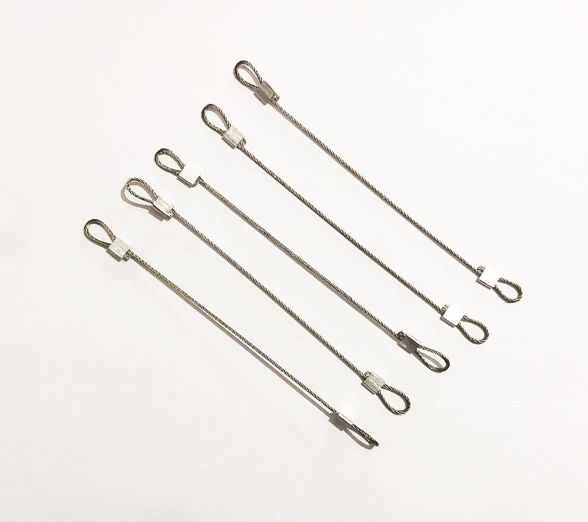 Sunny Hill Pack of 5 Steel Wire Crossbow Strings for Mini Crossbow Length 4.4 inches