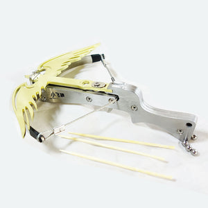 Mini Falcon Wings Stainless Steel Toothpick Steel Ball Crossbow