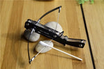 High Quality Mini Crossbow Toothpick Cross Arrow Bow  Metal Ornaments Outdoor Hunting Toy