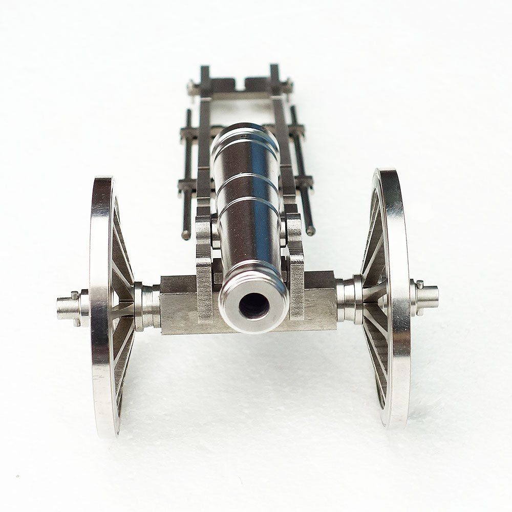 Mini Stainless Steel Handcrafted Napoleon Cannon Model Rare Military Collection