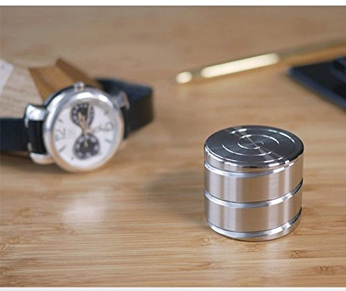 Fidget Screw Spinner New Cube Hypnotic Cylinder Metal Stainless Steel R188 Bearing Desk Toy