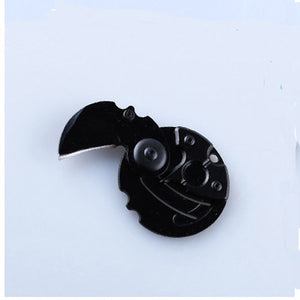 Mini Portable Folding Knife Coin Knife Survival Tool Knife