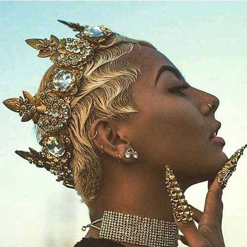 100 Best Short Pixie Cut Hairstyles For Black Women 2020 Surprisehair