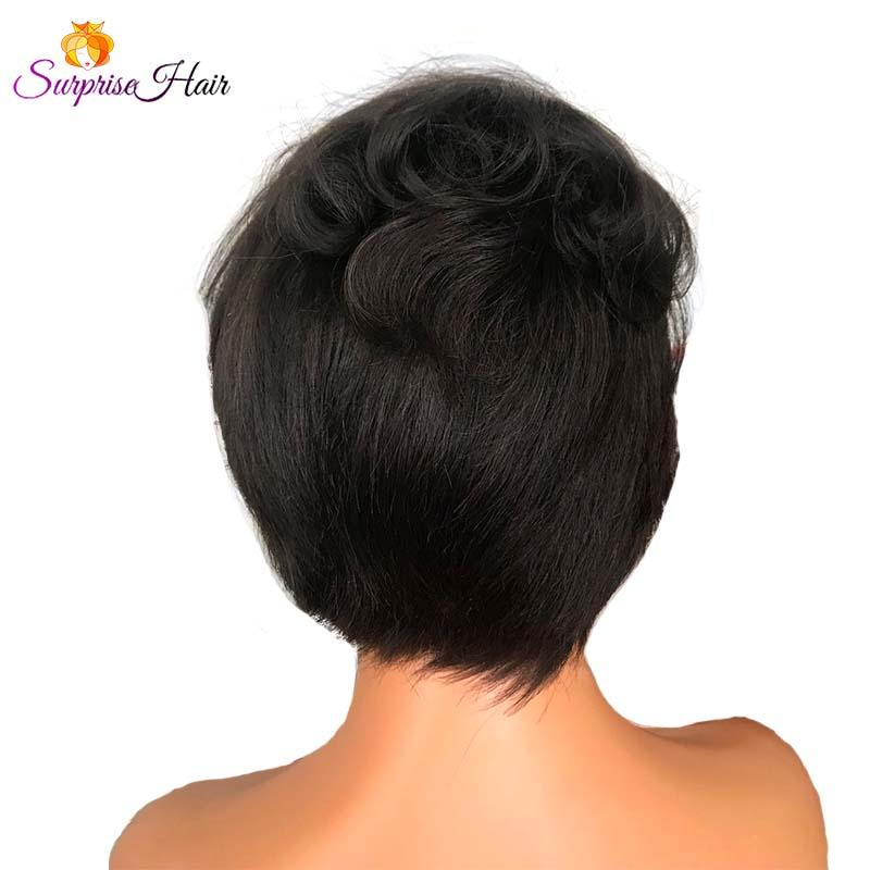 Short Pixie Cut Full Lace Wig for sale