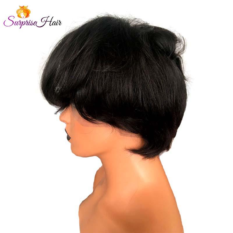 Short Pixie Cut Full Lace Wig