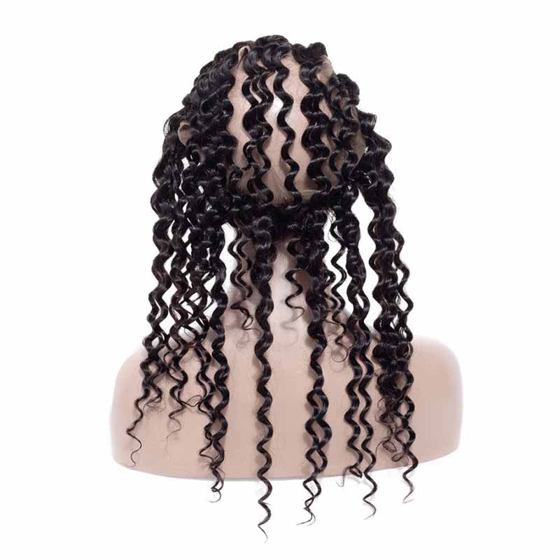 360 lace frontal brazilian deep wave