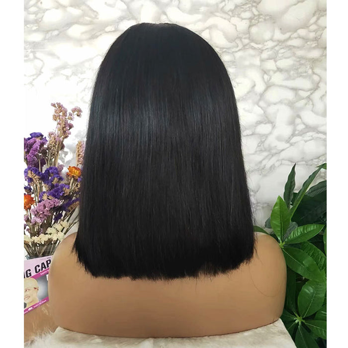 4x4 lace closure human hair bob wig