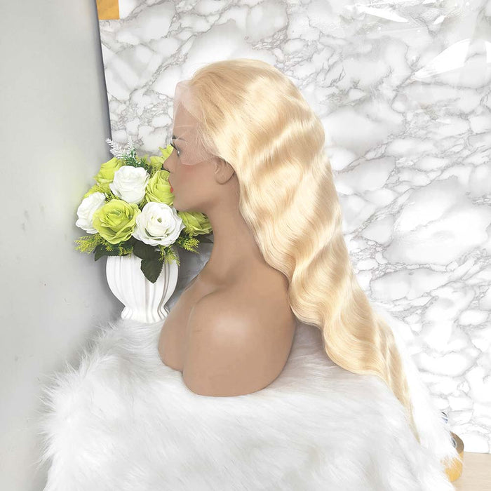 613 Color Full Lace Wig Body Wave Blonde Human Hair Surprisehair