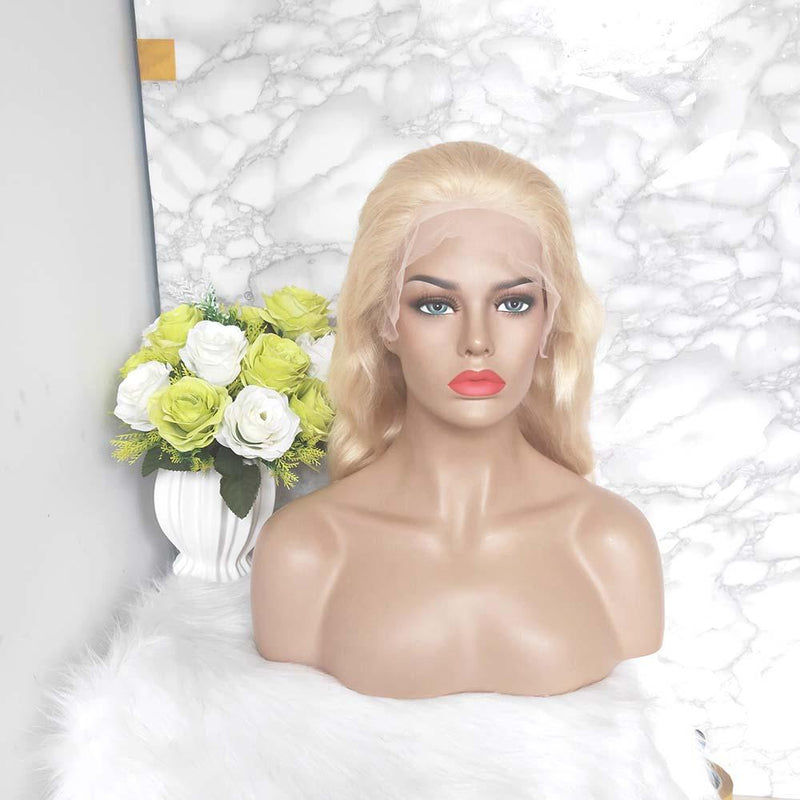new blonde full lace wig body wave