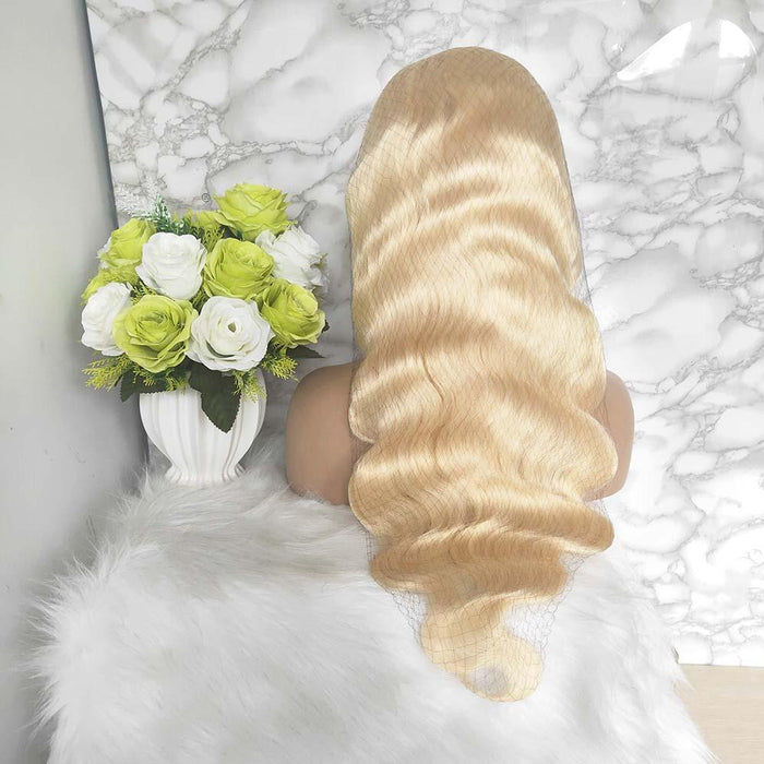 613 body wave human hair full lace wig