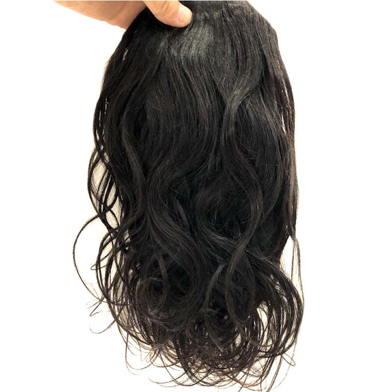 Brazilian hair natural wave ponytail