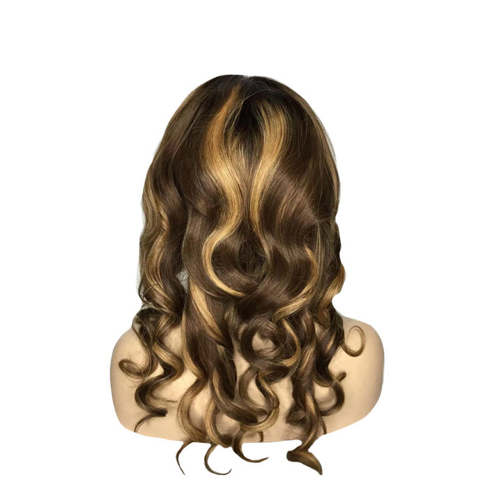 Colored Lace Wig human hair
