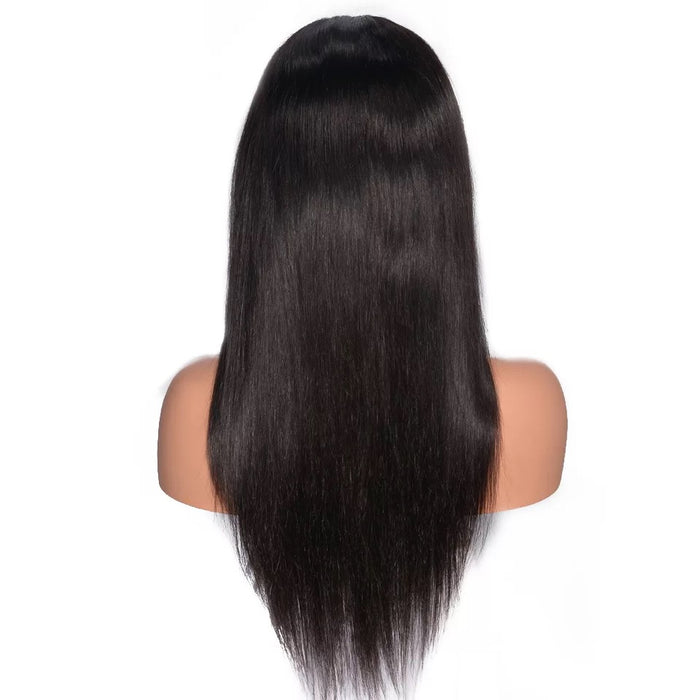 full lace wig straight human hair