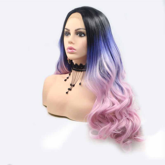 synthetic lace front wig for black women