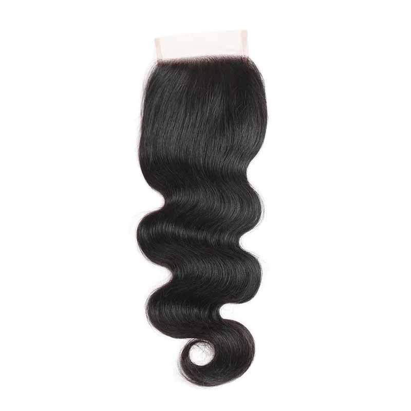 Free Part Body Wave Lace Closures brazilian hair