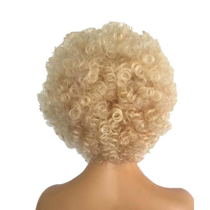 613 Color Afro curly Wig Lace Front