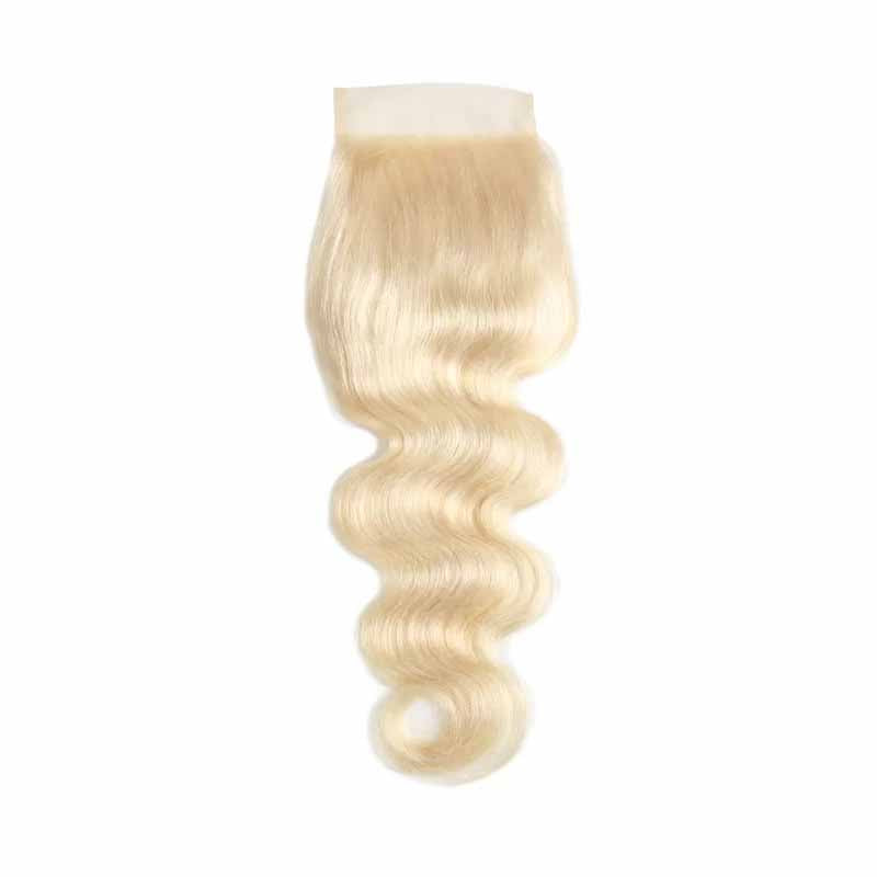 blonde lace closure body wave
