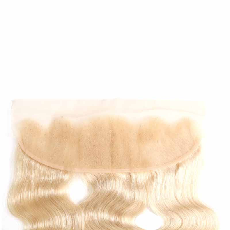 blonde lace frontal wave