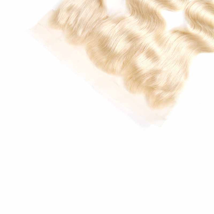 blonde lace frontal human hair