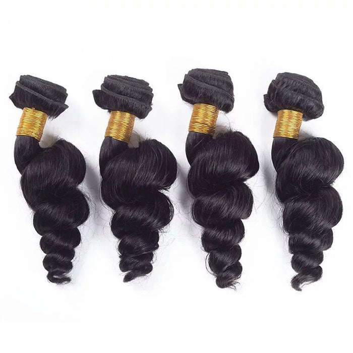 brazilian loose wave human hair process
