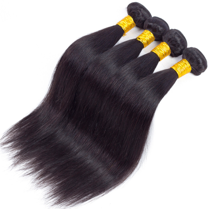 SurpriseHair 9A Brazilian Hair 4 Bundle Deals Straight Virgin Hair Deal