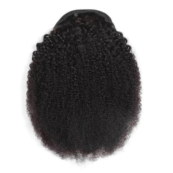 brazilian hair afro kinky ponytail for black women