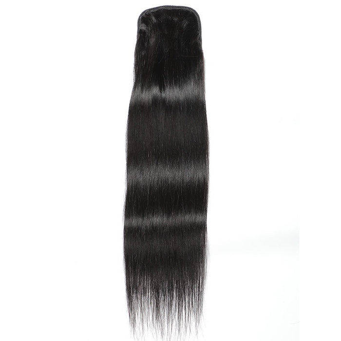 cheap Brazilian hair straight ponytail