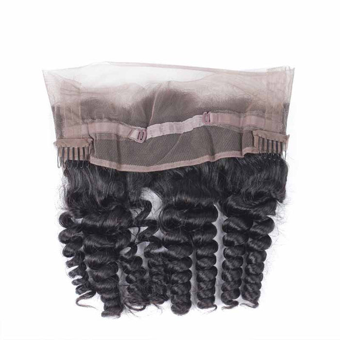 cheap malaysian loose wave 360 frontal