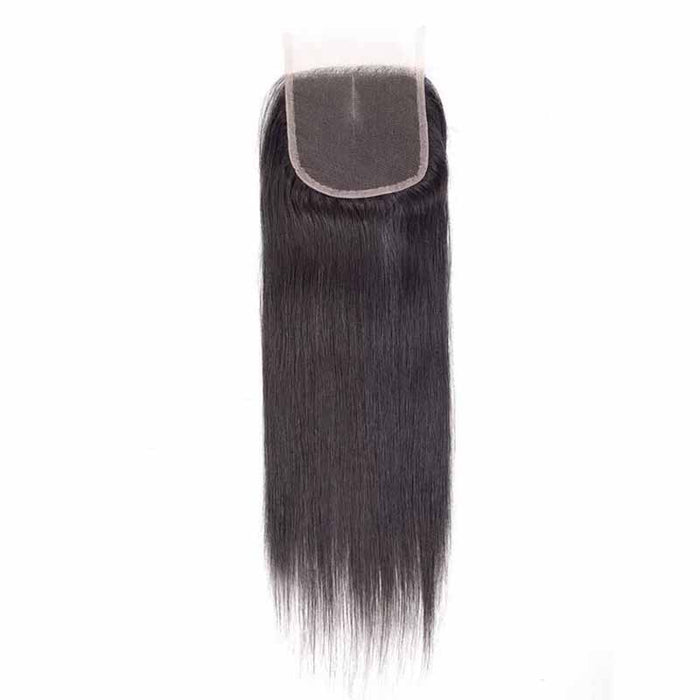 brazilian straight lace closure free part
